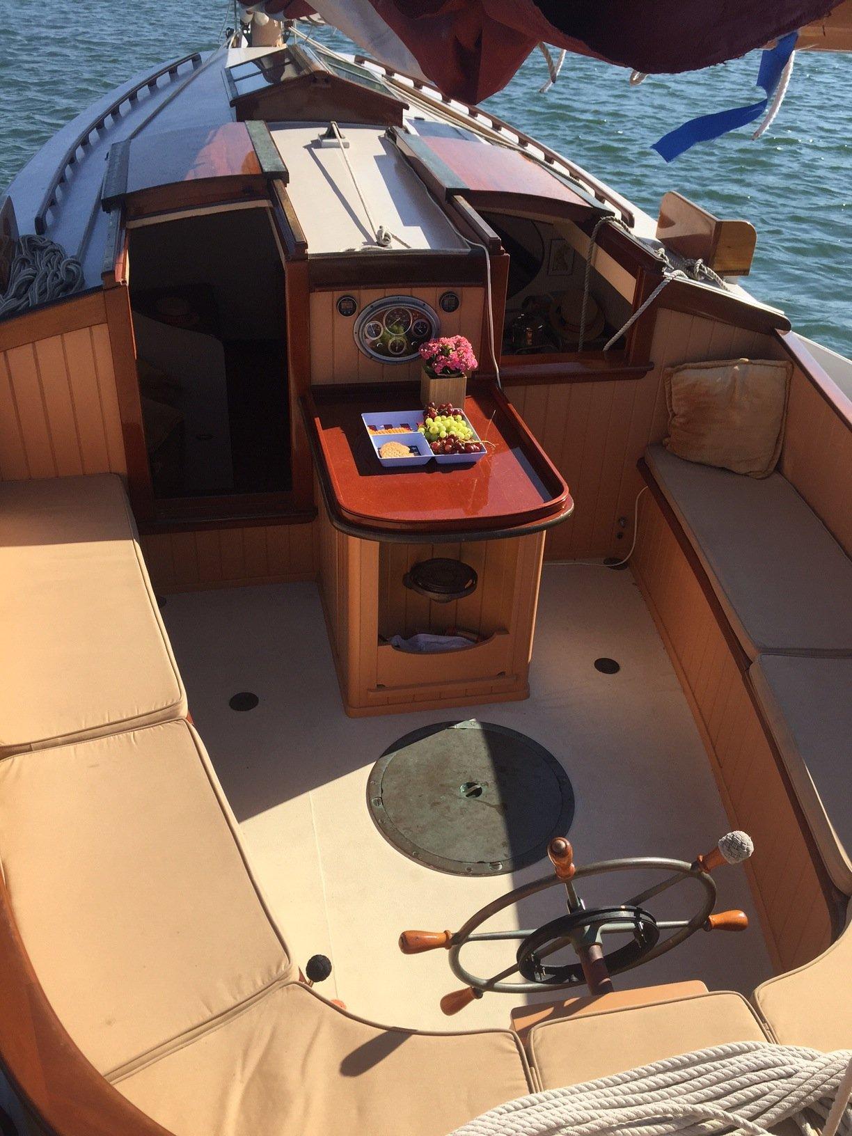 Catboats of martha s vineyard catboat charters for Martha s vineyard fishing charters