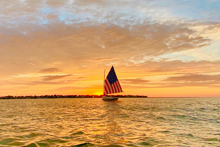 Catboat Charters Sunset Sail