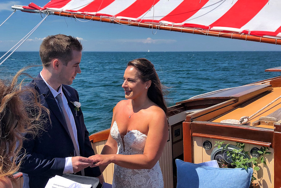 Catboat Charters Wedding